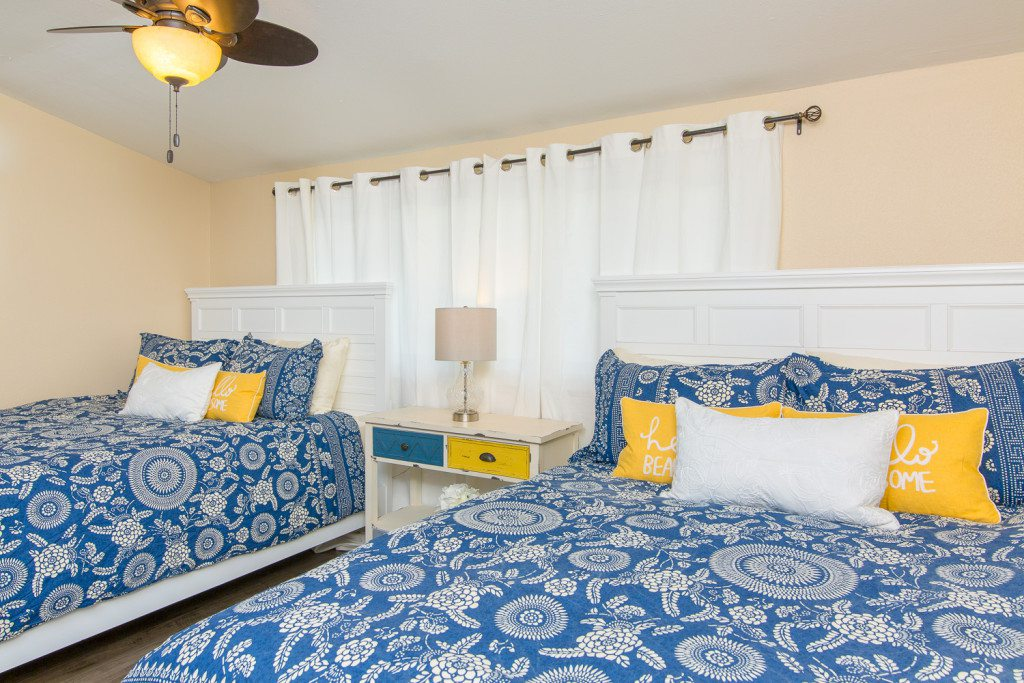 interior design styles, bedroom designs, yellow pillows , rental property